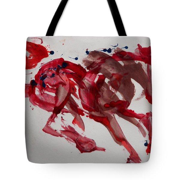 Japanese Horse Tote Bag