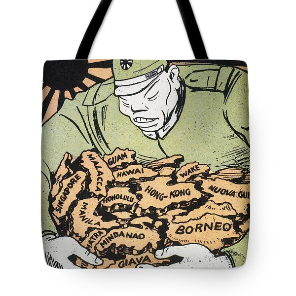 Tote Bag featuring the photograph Japanese Imperialism by Granger