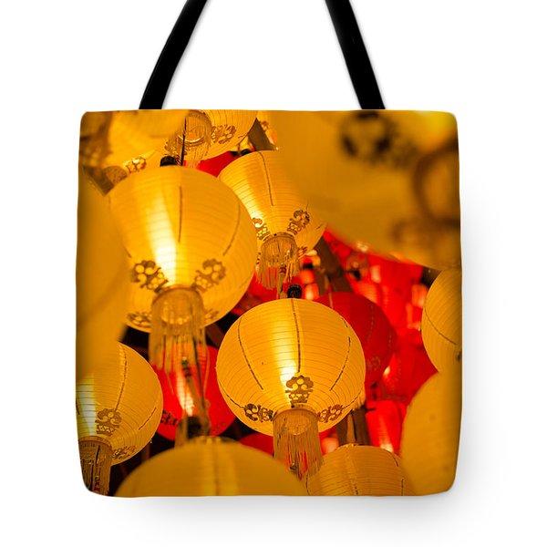 Japanese Lantern 3 Tote Bag