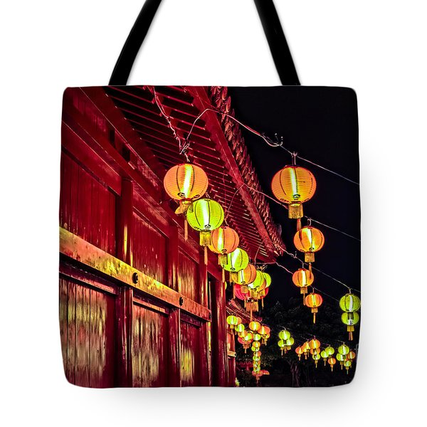 Japanese Lanterns 10 Tote Bag