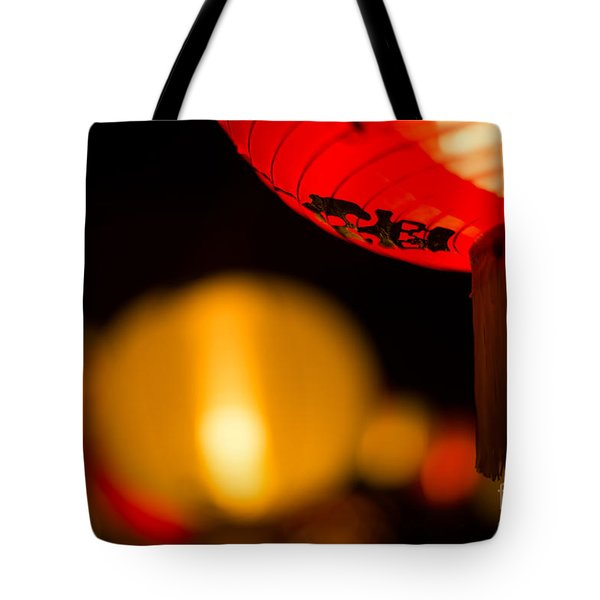 Japanese Lanterns 2 Tote Bag