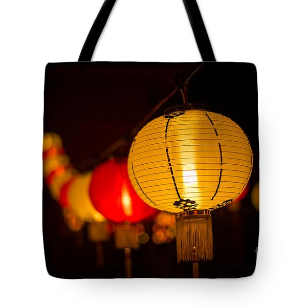 Japanese Lanterns 3 Tote Bag