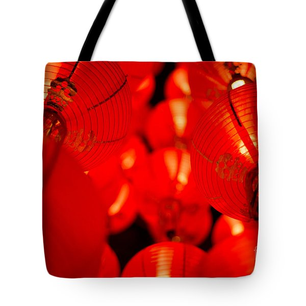 Japanese Lanterns 6 Tote Bag