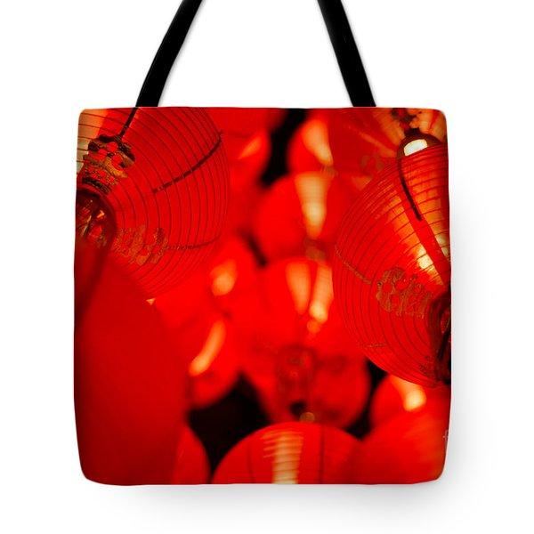 Japanese Lanterns 6 Tote Bag