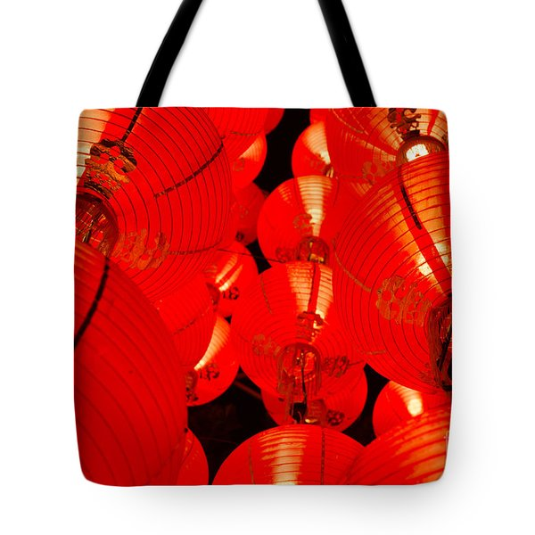 Japanese Lanterns 7 Tote Bag