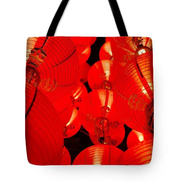 Japanese Lanterns 7 Tote Bag