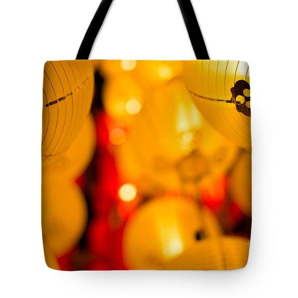 Japanese Lanterns 8 Tote Bag