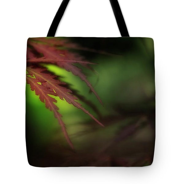 Tote Bag featuring the photograph Japanese Maple by Mike Eingle