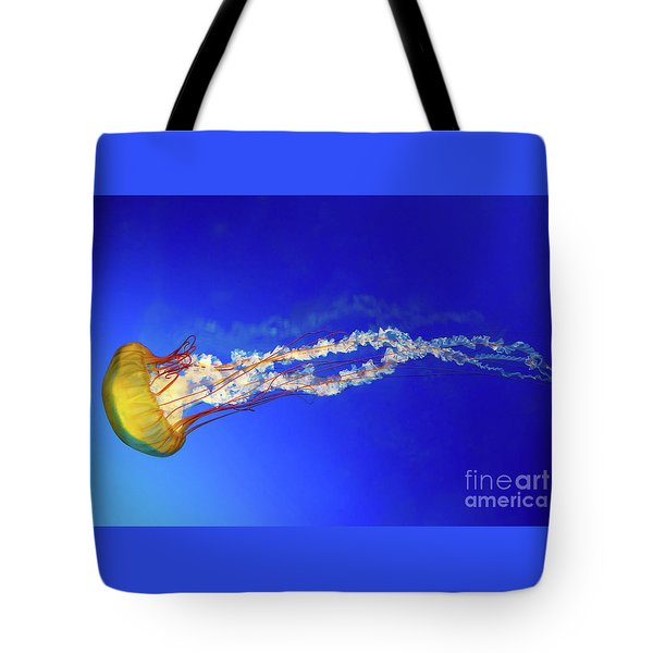 Japanese Sea Nettle Jellyfish Tote Bag