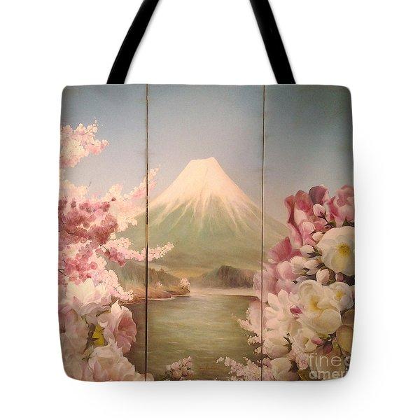 Japanese Spring Tote Bag