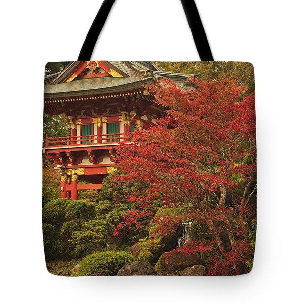 Japanese Tea Garden In Golden Gate Park Tote Bag by Stuart Westmorland