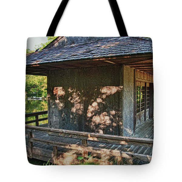 Japanese Teahouse Tote Bag by Tamyra Ayles