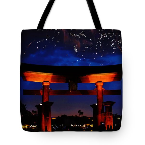 Japanese Torii Tote Bag