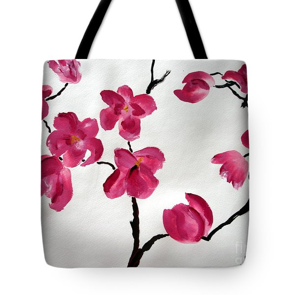 Japanese Tree Tote Bag