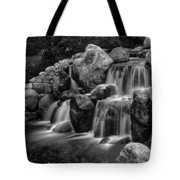 Japanese Waterfalls Tote Bag