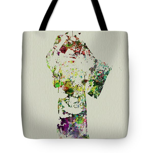 Japanese Woman In Kimono Tote Bag by Naxart Studio