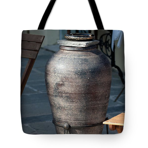 Tote Bag featuring the photograph Jar by Bruno Spagnolo
