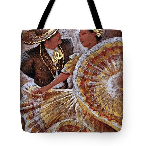 Jarabe Tapatio Dance Tote Bag