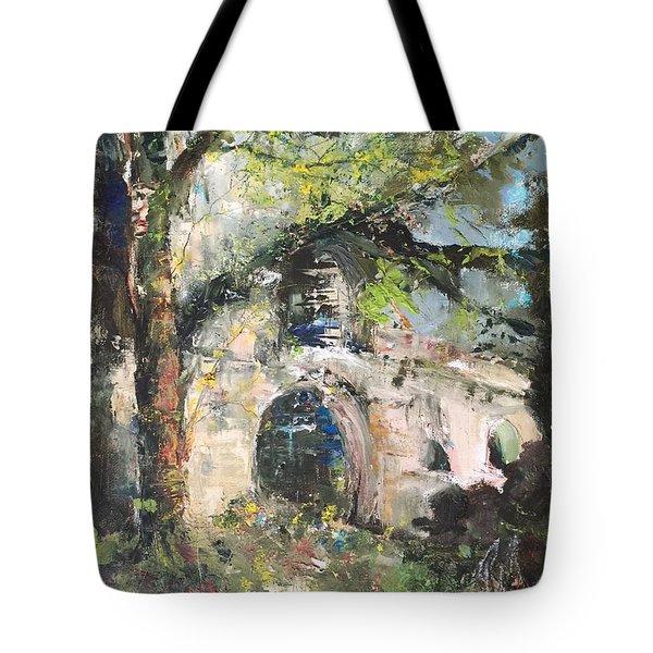 Jardin D'au Paradis  Tote Bag