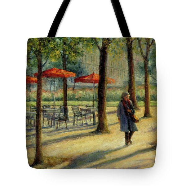 Jardin Des Tuileries In October Tote Bag