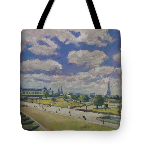 Jardin Des Tuileries Paris Tote Bag