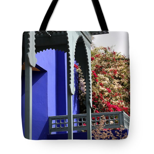 Tote Bag featuring the photograph Jardin Majorelle 3 by Andrew Fare