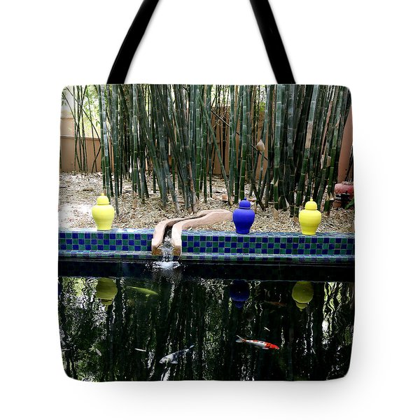 Tote Bag featuring the photograph Jardin Majorelle by Andrew Fare
