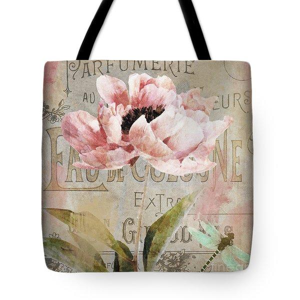 Jardin Rouge I Tote Bag