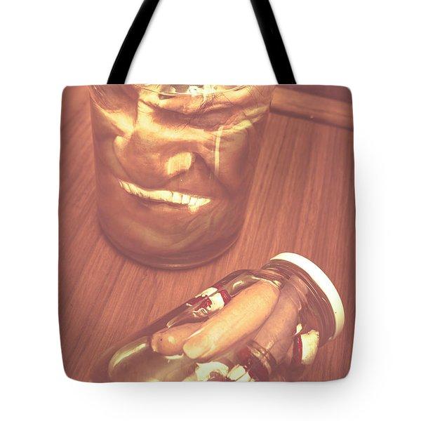 Jars Of Evil Monsters Tote Bag