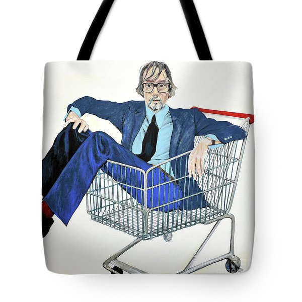 Jarvis Cocker 'off Yer Trolley' Tote Bag