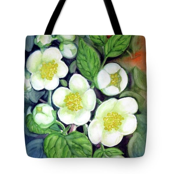 Jasmine Fantasy Tote Bag by Inese Poga