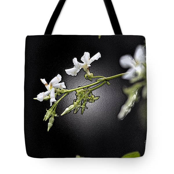 Jasmine In The Dark Tote Bag