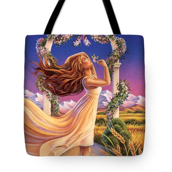 Jasmine - Sensual Pleasure Tote Bag