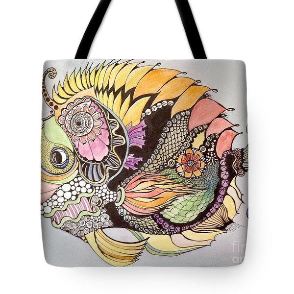 Jasmine The Fish Tote Bag by Iya Carson