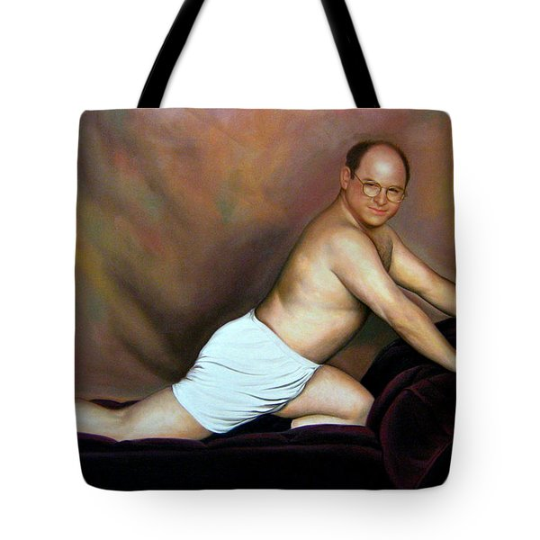 Jason Alexander As George Costanza Tote Bag