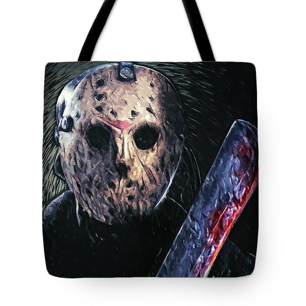 Jason Voorhees Tote Bag