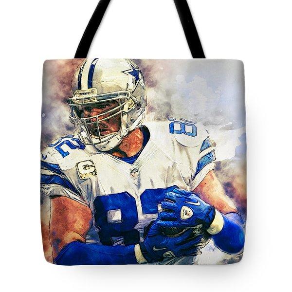 Jason Witten Tote Bag