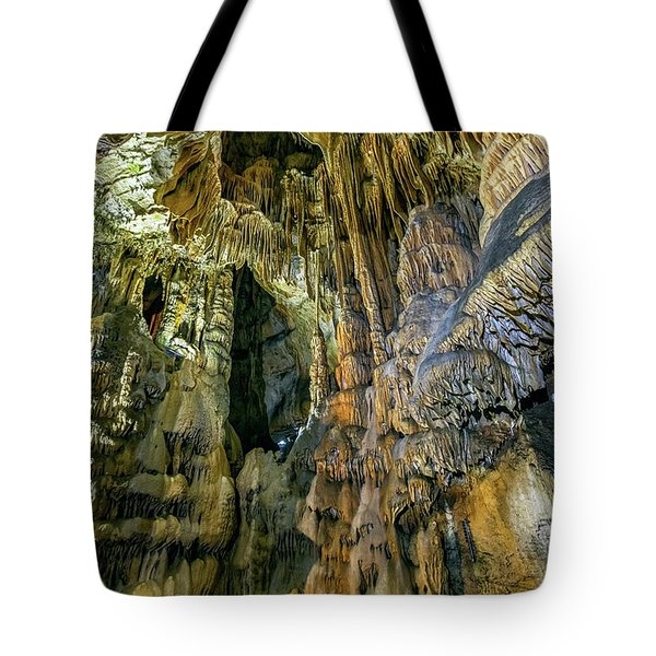 Jasovska Cave, Jasov, Slovakia Tote Bag by Elenarts - Elena Duvernay photo