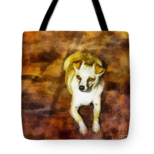 Tote Bag featuring the photograph Jasper by Rhonda Strickland