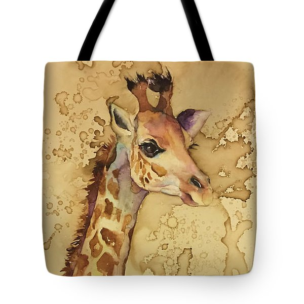 Java Giraffe Tote Bag
