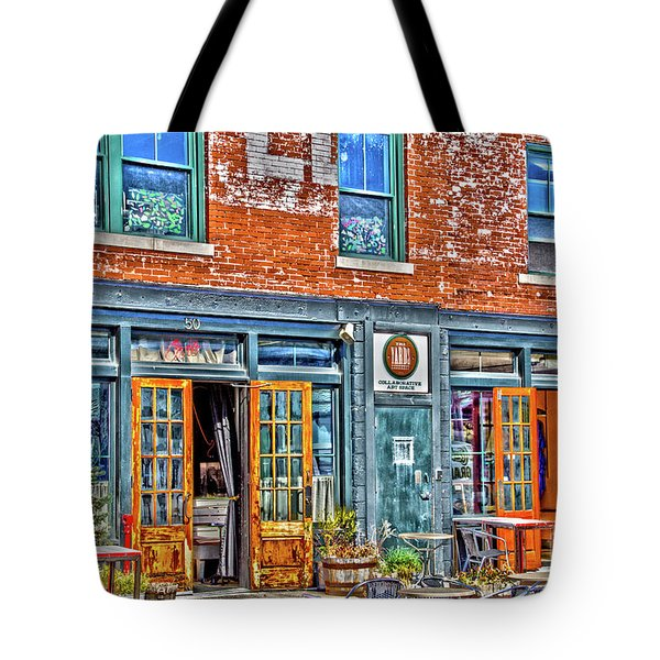 Tote Bag featuring the photograph Java House by William Norton