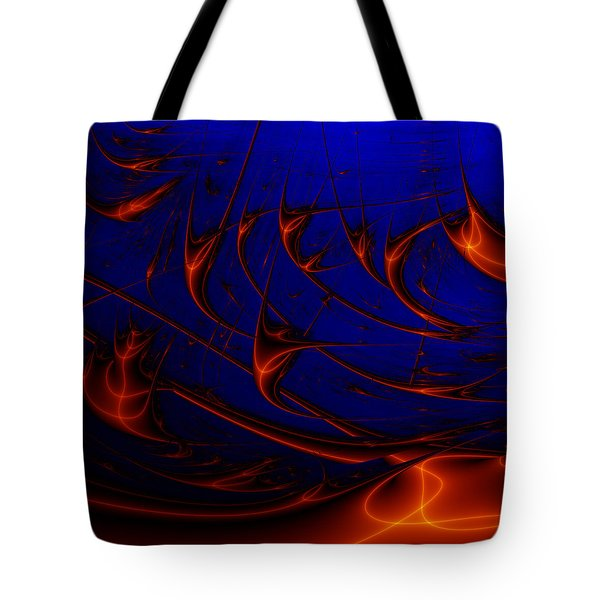 Tote Bag featuring the digital art Javaturing by Andrew Kotlinski
