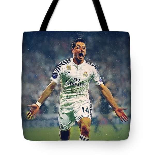 Javier Hernandez Balcazar Tote Bag by Semih Yurdabak