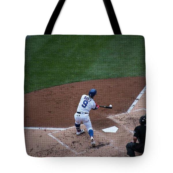 Javy Baez Tote Bag by David Bearden