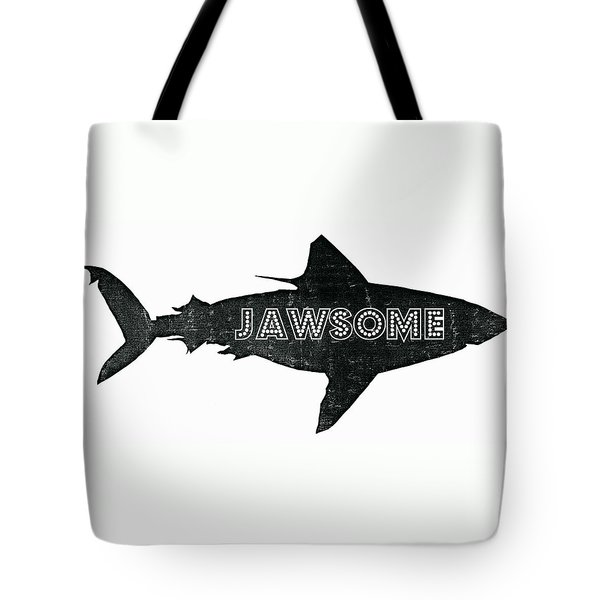 Jawsome Tote Bag by Michelle Calkins