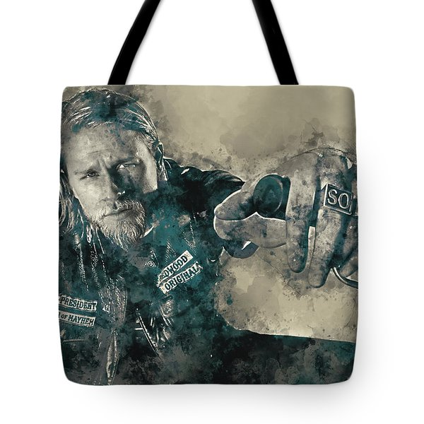 Jax Teller, Sons Of Anarchy Tote Bag