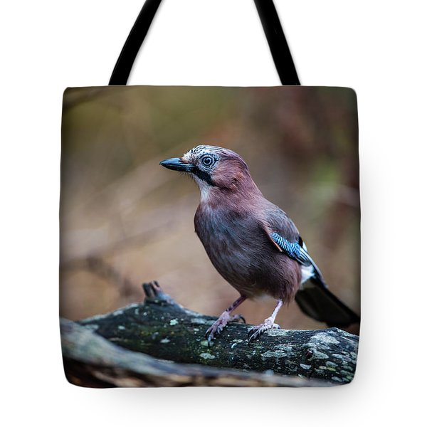Jay Watch Tote Bag by Torbjorn Swenelius
