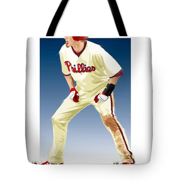 Jayson Werth Tote Bag by Scott Weigner