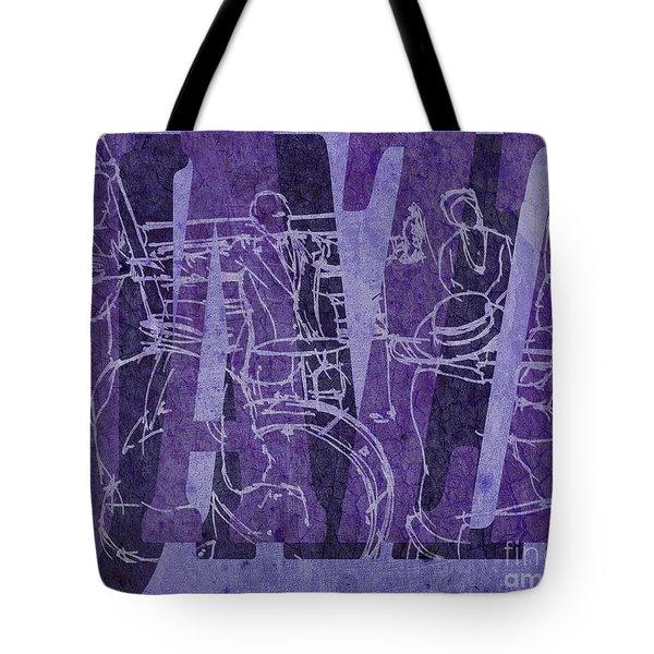 Jazz 31 Satchmo - Purple Tote Bag