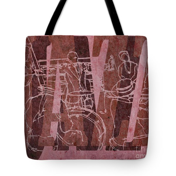 Jazz 31 Satchmo - Red Tote Bag